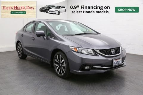 Certified Used Honda Civic EX-L